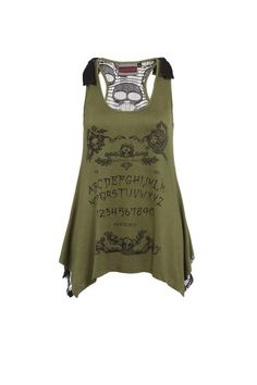 Ouji Gothic T-Shirt | RK Edge, Home of Psychobilly Fashion Clothing