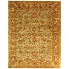 Safavieh Heritage Cheshunt Hand-Tufted Wool Area Rug, Gold