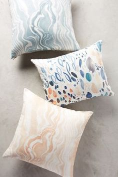 Marbled Stripe Pillow