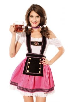 ac7911e0d48ec Maid costume halloween costumes for women pink maid costume sex costumes  dress