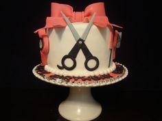 Birthday cake for hairstylist!