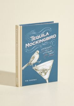 Tequila Mockingbird. Plot your next book club meeting in smart, sophisticated style by consulting this compedium of 'novel' cocktail recipes! #multi #modcloth