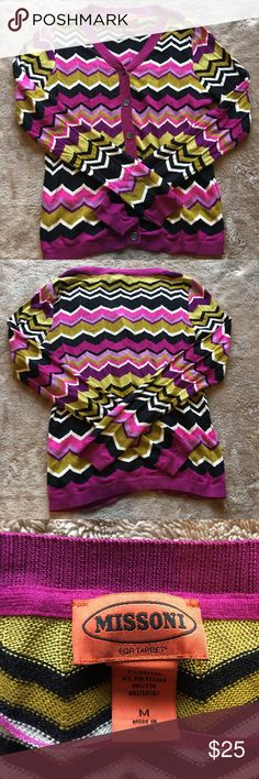 Missoni for target purple chevron cardigan Missoni for target purple cardigan   Size medium  New without tags  A fun pop of color for any wardrobe   I accept lowball offers! Missoni for Target Sweaters Cardigans