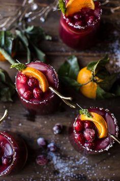 Cranberry Orange Margaritas (VIDEO) | halfbakedharvest.com @hbharvest