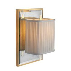 Check out the Visual Comfort BBL2016I-SS-S Barbara Barry 1 Light Sunset Plaza Sconce in Ivory and Soft Silver with Ivory Silk Pleated Shade priced at $524.90 at Homeclick.com.