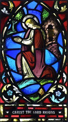 Client:  Christ Episcopal Church  Location:  Swansea, Massachusetts  Restoration  Date:  November 2005       Scope of Project:  Historic restoration of four two-lancet Connick windows.