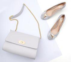 Beautiful and easy to match! Bags and shoes na cor queridinha da estação! ❤️ #preview #summer2017 #dumond