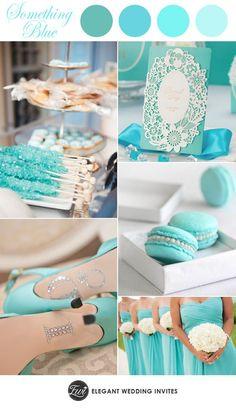 Una Boda Tiffany Blue. Para comenzar a pensar en tu boda en azul Tiffany es importante conocer el origen de este color tan chic para una boda