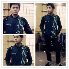 jaket batik Military Medogh dipakai Fedi Nuril