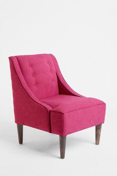 Madeline Chair in a few colors: orange, yellow, pink/purple w/ green sofa?  will this look like an open package of skittles?