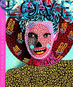 ^_^ Doodled Magazine cover by Hattie Stewart!