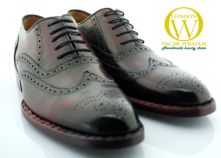 Classic Luxury Handmade Mens Brouge Shoes (Antonio) thumbnail image