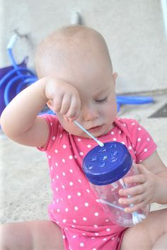 Une activité pour bébé vraiment passionnante!