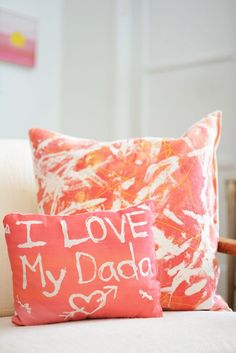 fabric resist art activity for kids - great project for mother's day and father's day