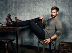 Chris Hemsworth for Men's Journal.