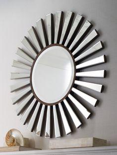 "Horchow ""Sunburst"" mirror"