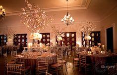 The Bath Club wedding lighting