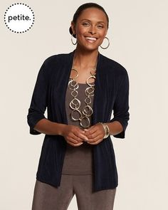 Petite Travelers Classic Mea Jacket - Chico's