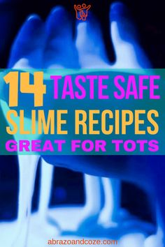 14 Awesome Edible Slime Recipes Safe for Kids - Find Your Favourite Art Activities For Kids, Sensory Activities, Hands On Activities, Edible Slime, Busy Kids, Kids Suits, Slime Recipe, Parenting Toddlers, Mouths