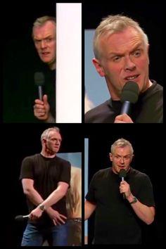 Greg Greg Davies, The Funny, Funny Man, Comedy Actors, British Comedy, Man Humor, Comedians, Feelings, Gd