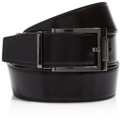 Salvatore Ferragamo Reversible Belt with Square Buckle ($295) ❤ liked on Polyvore featuring men's fashion, men's accessories, men's belts and salvatore ferragamo mens belt