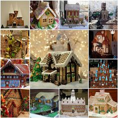 Gingerbread houses (replacement) | Flickr - Photo Sharing!
