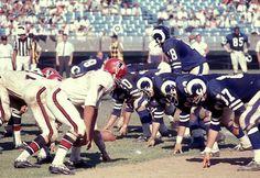 The Atlanta Falcons first regular season game vs. the Los Angeles Rams on Sept. 11, 1966.