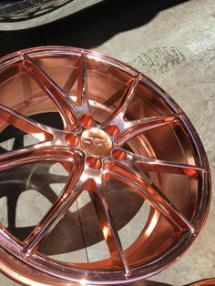 The Chrome Factory is a World-class spray chrome plating company that offers services anywhere in the United States.  Smooth #rosegold #Wheels  https://www.chromefactorylv.com/services/