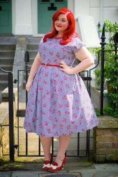 Plus size dirndl dress pattern