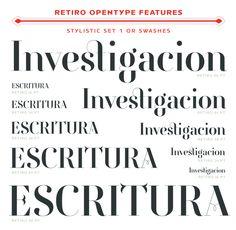 Actualité / Le Retiro, un nouveau Didot Hispanique / étapes: design & culture visuelle