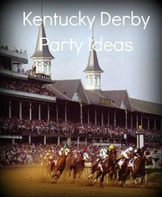 Find some fantastic Kentucky Derby party ideas for invitations, decorations, activities, and traditional Kentucky Derby recipes!