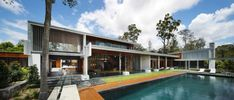 Fortitude Valley-based Shaun Lockyer Architects have designed One Wybelenna, a private residence located in Brisbane, Australia.