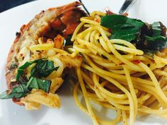 Spicy Pasta with Lobster/Mi Xao Tom Hum Cay — Cathy Ha Cooks