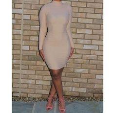 Perfect nude dress