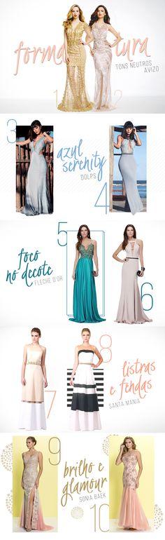 10 vestidos incríveis para brilhar na formatura | Mega Polo Moda