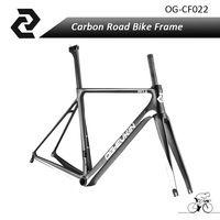 OG-EVKIN 700C Carbon Bike Frame Carbon Fiber Ud Weave Bb86 Carbon Bike Road Frame 46/49/52/54cm