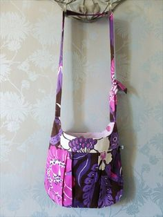 A stunning shoulder bag,  Bohemian, funky, retro and unique! on Etsy, £34.00