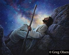 Greg Olsen painting Jesus spent many hours of solitude praying. No Christ, no true joy. Know Christ, know true joy. Images Du Christ, Greg Olsen Art, Arte Lds, Image Jesus, Lds Art, Jesus Christus, Prophetic Art, Doreen Virtue, Jesus Pictures