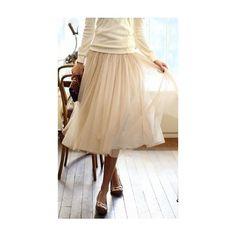 Ballet inspired Chiffon Skirt
