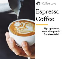 Show your love of espresso coffee with espresso machines. Espresso Shot, Best Espresso, Coffee Love, Coffee Shop, Fresh Coffee Beans, Espresso Coffee Machine, Coffee Signs, Latte, Sweet