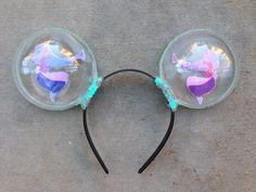 Cinderella Bubble Inspired Mouse Ears by MairadasTreasures on Etsy