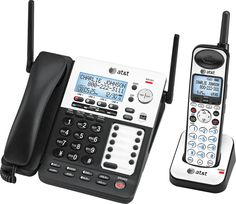 AT&T SynJ 4-Line Corded/Cordless Phone System SB67138 New - http://electronics.goshoppins.com/home-telephones/att-synj-4-line-cordedcordless-phone-system-sb67138-new/