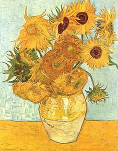 Vincent van Gogh's painting »Vase with Five Sunflowers« is the second version from the Arles series, painted during August 1888.