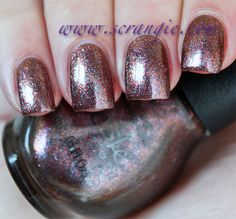 Scrangie: Nicole by OPI Target Exclusive Collection for Fall 2012, Just Busta Mauve