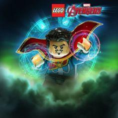 Lego Marvel Avengers: Different Doctor Strange - [Digital Code] Ms Marvel, Lego Marvel Super Heroes, Marvel Universe Characters, Lego Universe, Poster Marvel, The Avengers, Legos, Lego Tattoo, Lego Dc Comics