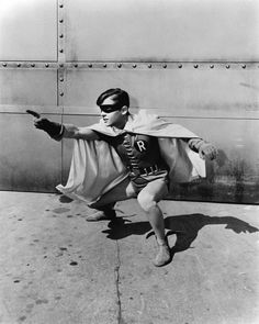 "Burt Ward as Robin, in ""Batman"""
