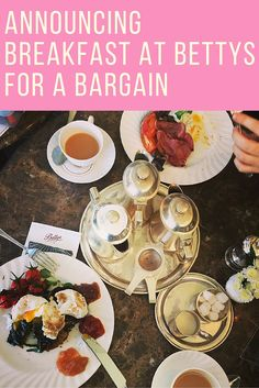 The lovely Bettys Cafe Tearooms in Harrogate is offering Breakfast for a bargain throughout June, details on my blog post here.