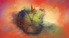 Alnas Alwan TV Programmer title, Mohammed Zain on ArtStation at https://www.artstation.com/artwork/dB5W1