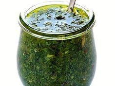 Chimichurri - a szósz, ami mindenhez passzol Chimichurri, Pesto, Pickles, Cucumber, Grilling, Bbq, Cooking Recipes, Finger, Food