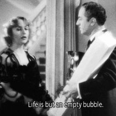 My man Godfrey hahaha i just love these quotes! Carole Lombard was soo adorable and charming in this movie!